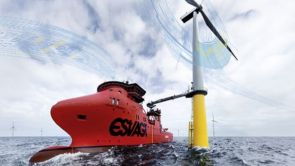Service operation vessels can work at a wind farm for up to several weeks at a time
