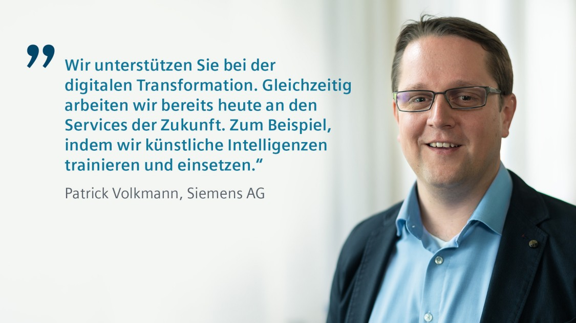 Siemens Experte Patrick Volkmann über Predictive Services