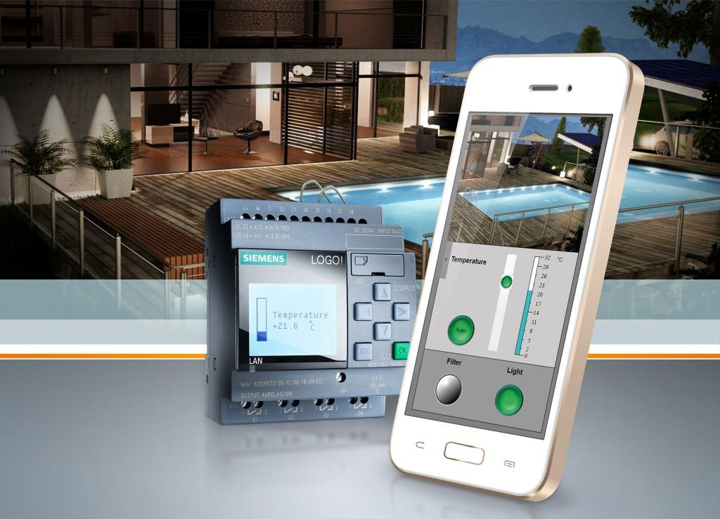 Web-Editor für die individuelle Logikmodul-Steuerung per Smartphone, Tablet und PC