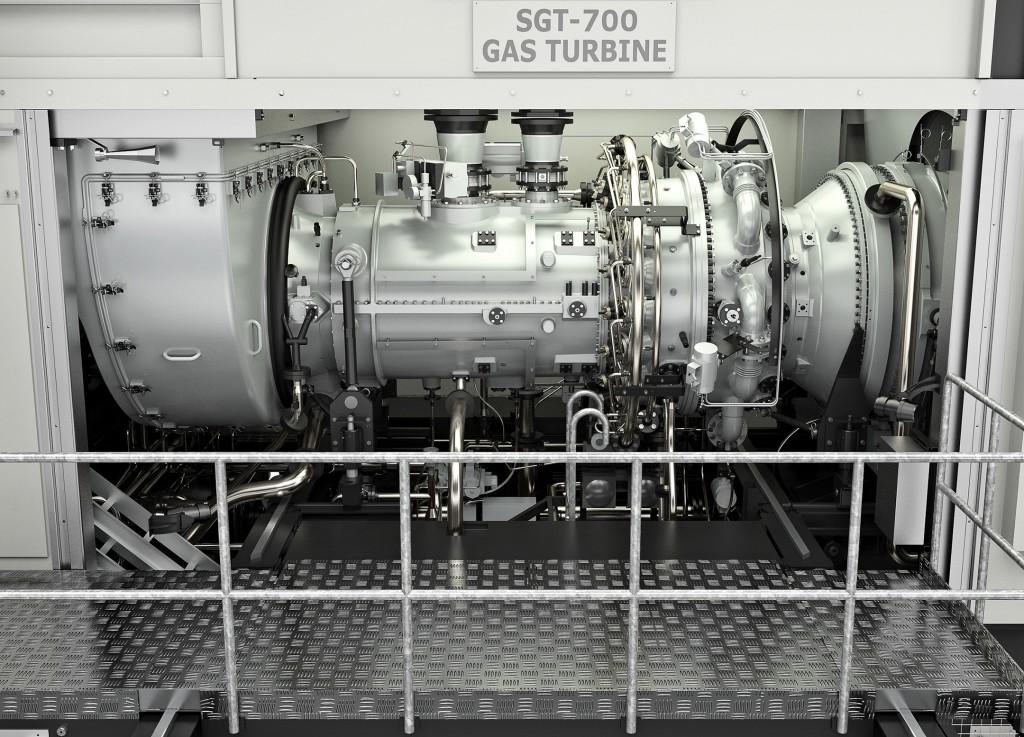 SGT-700 industrial gas turbine