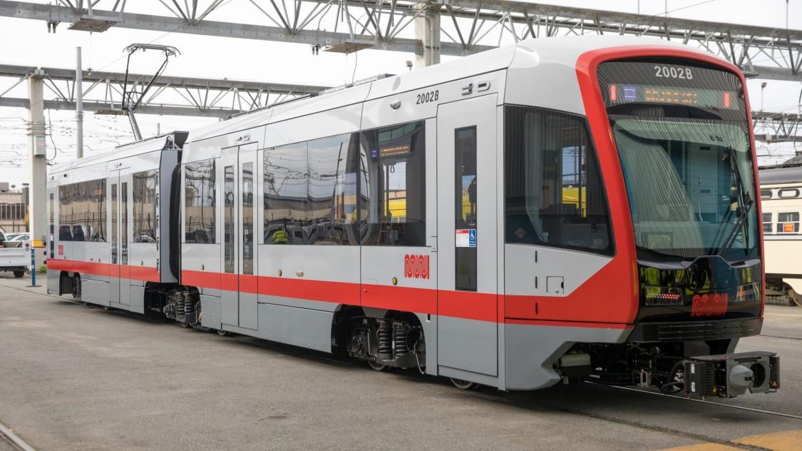 North America light rail vehicles