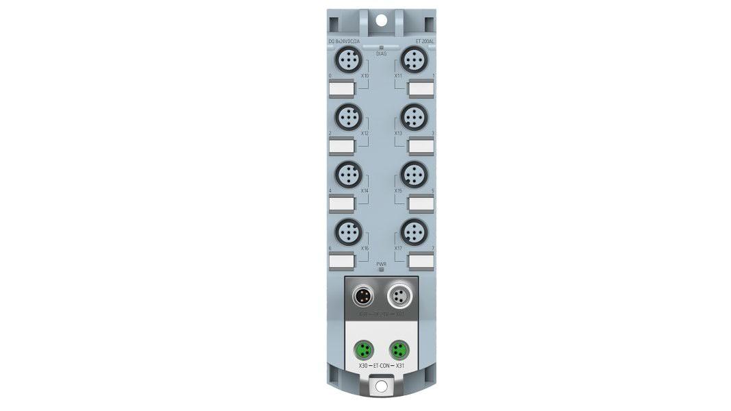 SIMATIC ET 200AL DQ 8x24V DC/2A 8xM12