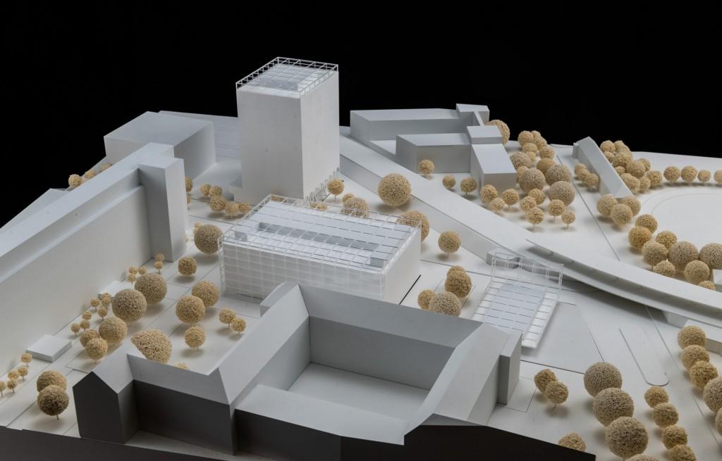 Siemensstadt Hochbauwettbewerb Entwurf Robert Neun