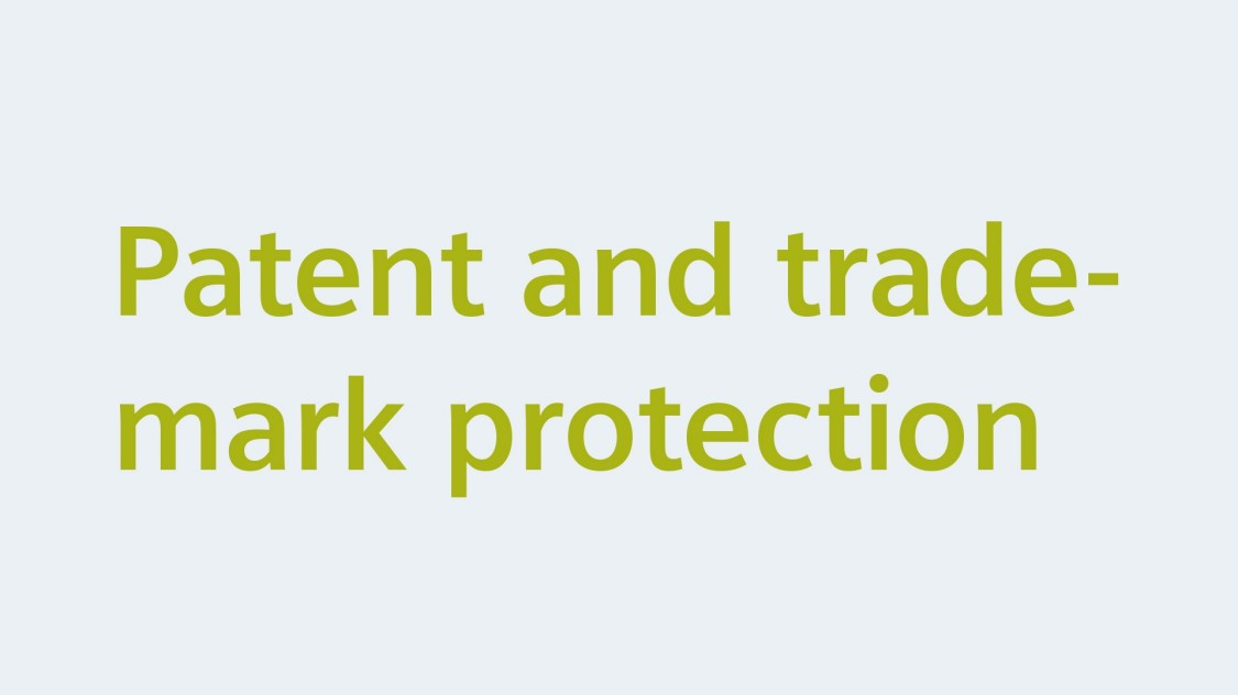 Patent and trademark protection