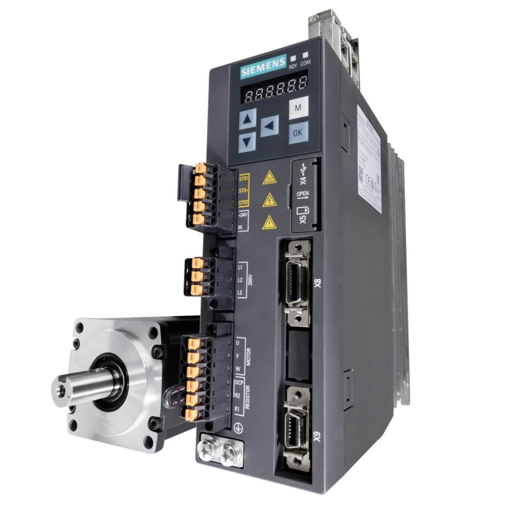 Neue Firmware bringt weitere Funktionen für den Servoumrichter Sinamics V90