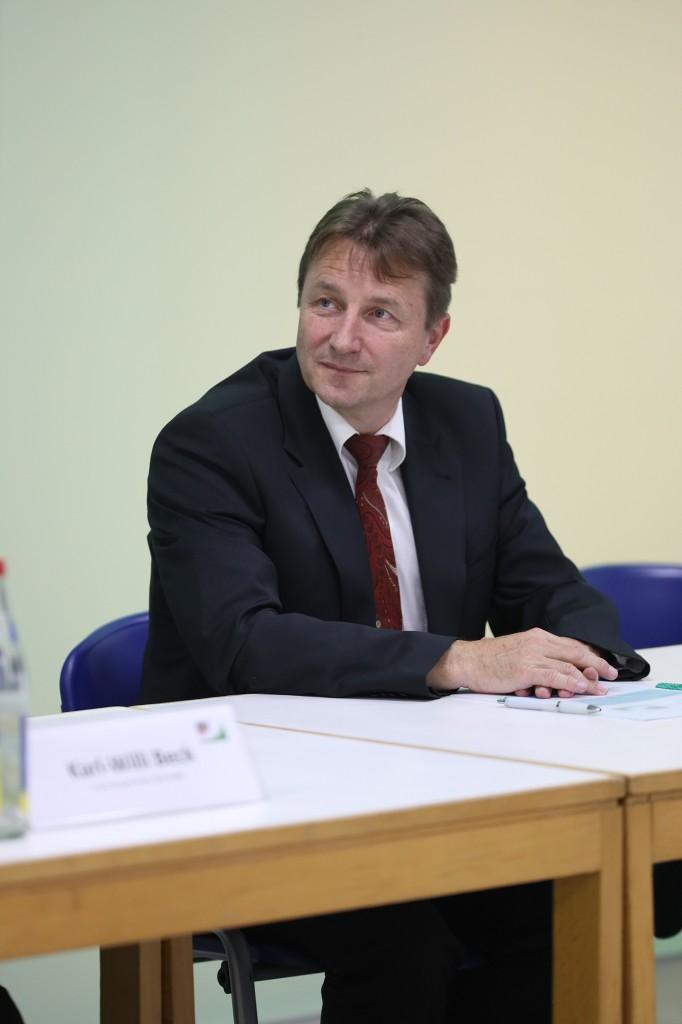 Dr. Bernd Koch, Leiter CoC Dezentrale Energiesysteme Deutschland