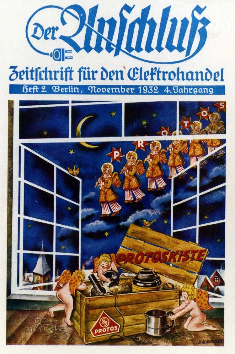 Cover page of Der Anschluss. Zeitschrift für den Elektrohandel, November 1932
