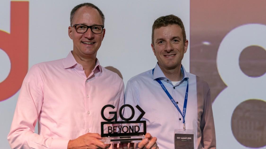 GO2018 OEM award