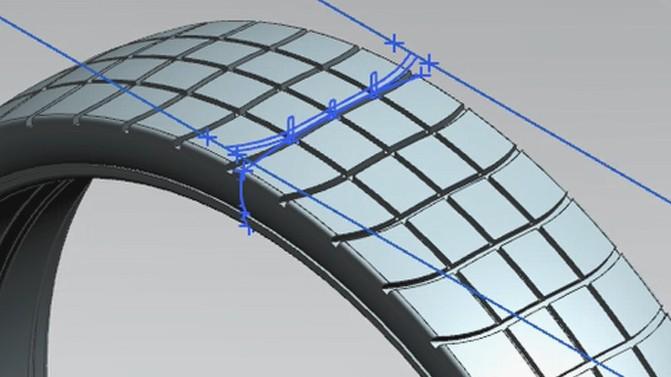 数字化产品设计、仿真和验证包括空气动力学、声学、湿滑路面和配方管理。