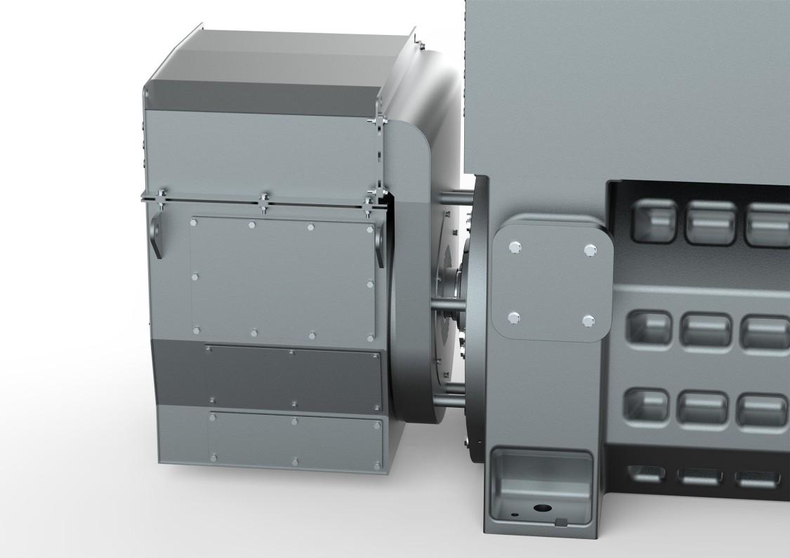 SIMOTICS HV M slipring motors – with separated slipring compartment