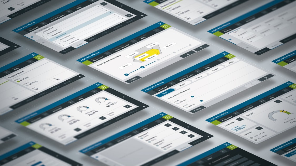 The HMI Template Suite simplifies the creation of modern, practical HMI designs