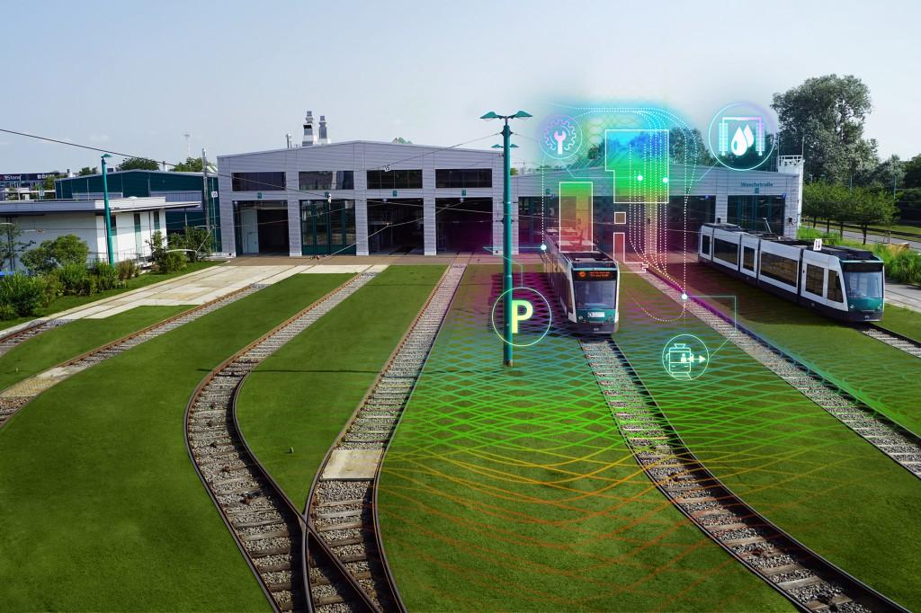Siemens Mobility en partners lanceren onderzoeksproject 'Autonome tram in depot'