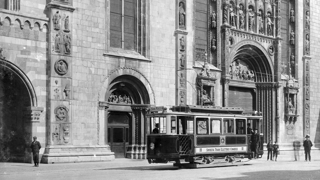 Como Straßenbahn, 1906