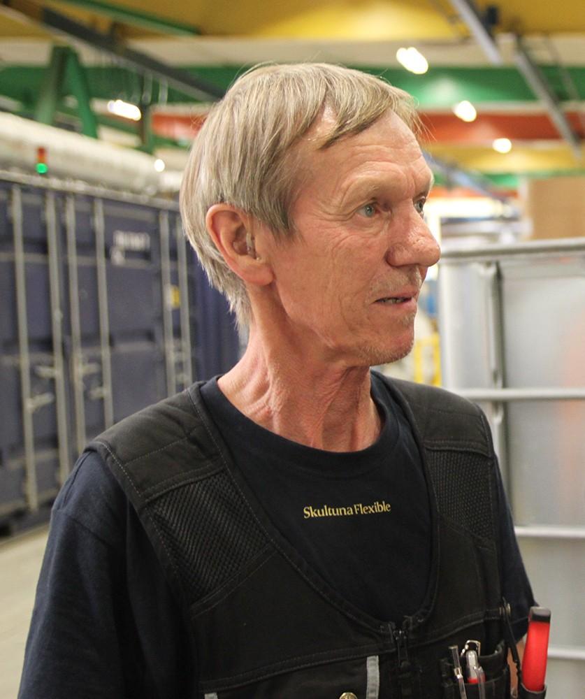 "Mekanikern Sven-Olof ""Sventa"" Käll gjorde motoranpassningarna."