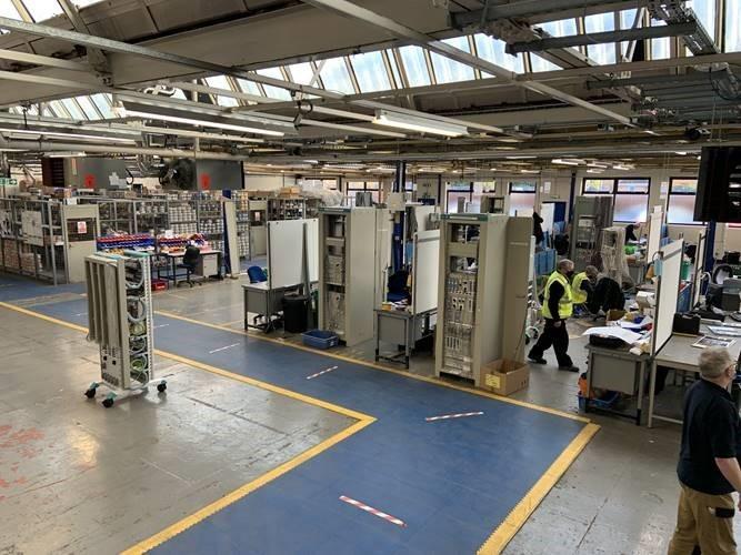 Wythenshawe Factory Floor