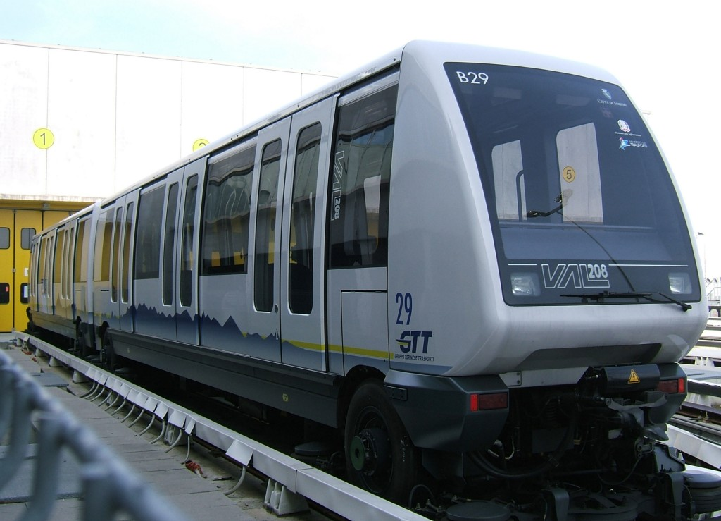 Siemens to extend VAL line in Turin