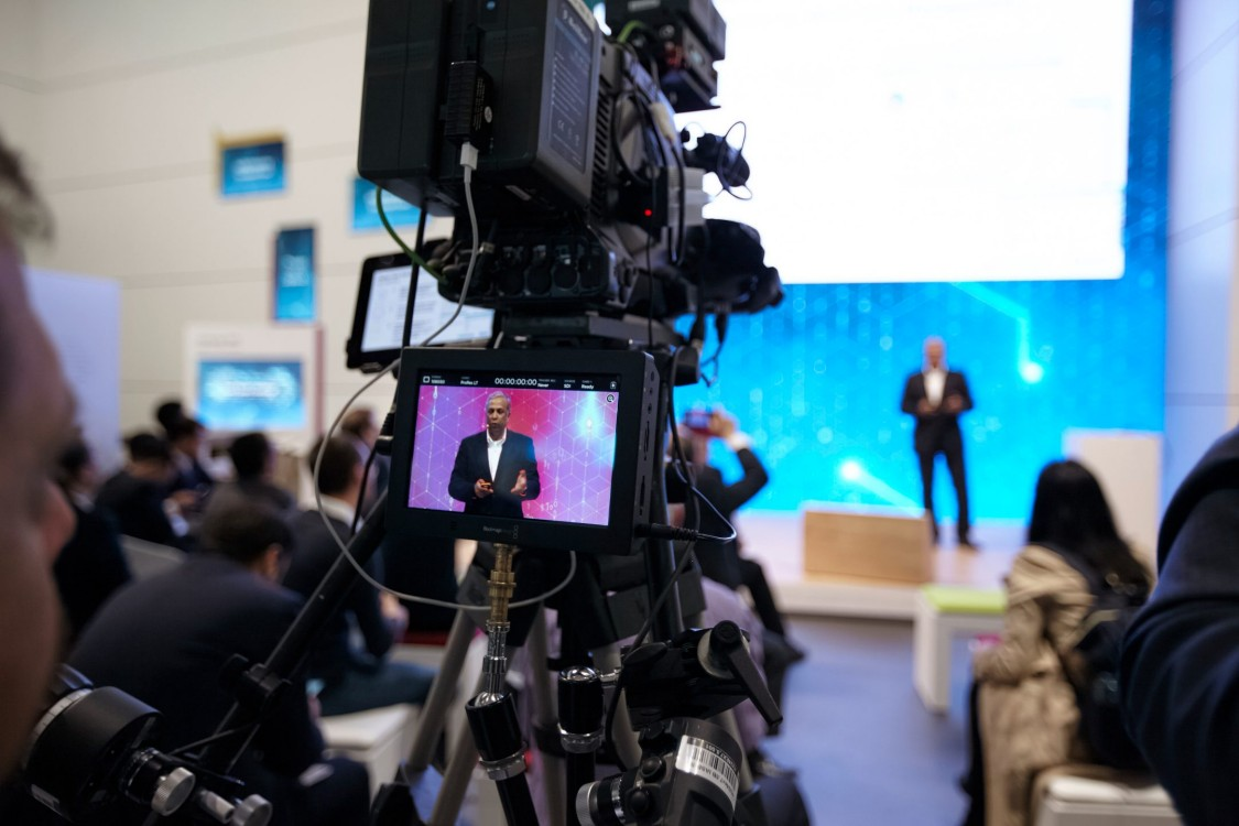 Open Space live stream der Hannover Messe 2019