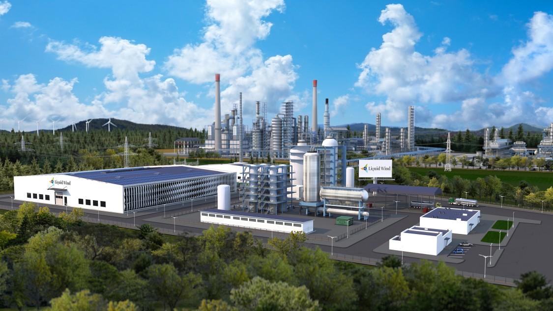 Liquid Wind bygger världens första elektrobränslefabrik
