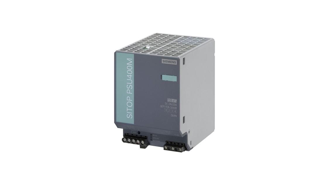 Product image of SITOP PSU400M, 200 V–900 V DC, 24 V DC/20 A
