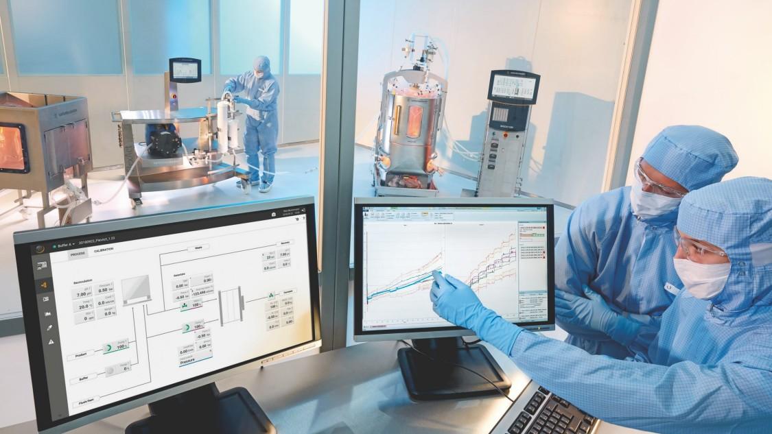 Smarte Bioprozesstechnik in der Biopharma-Produktion