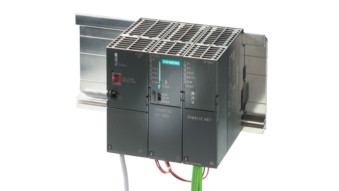 Product image of SIMATIC S7-300 advanced controller with CP 343-1 communications processor