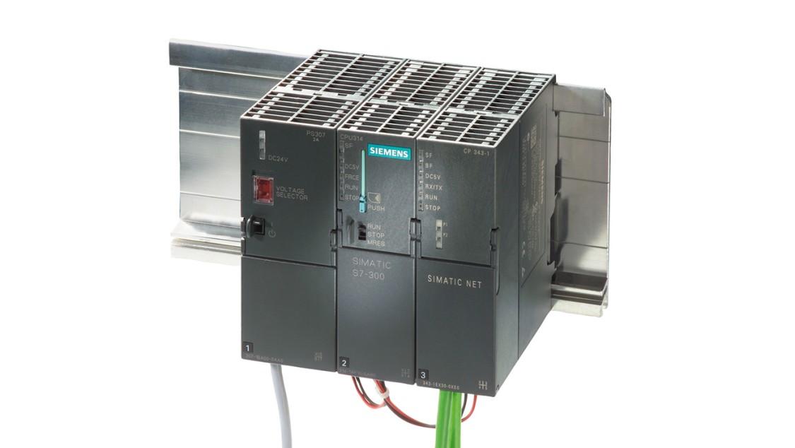 Produktbild SIMATIC S7-300 mit Kommunikationsprozessor CP 343-1