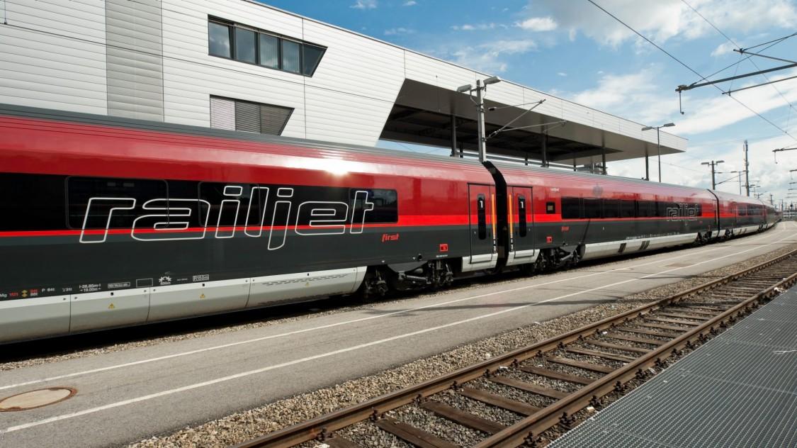 Viaggio Comfort – Austrian Federal Railways (ÖBB), Railjet intercity train