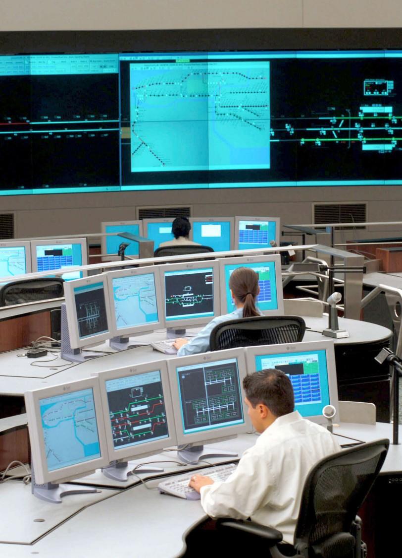 digital train control system