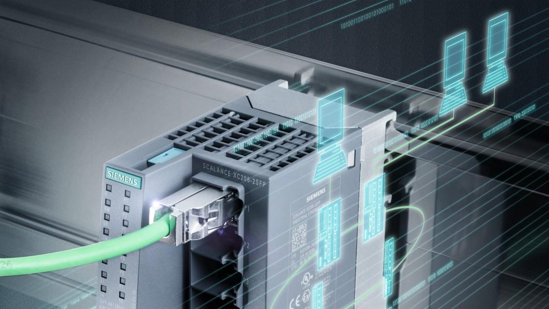 Průmyslové síťové komponenty založené na Ethernetu