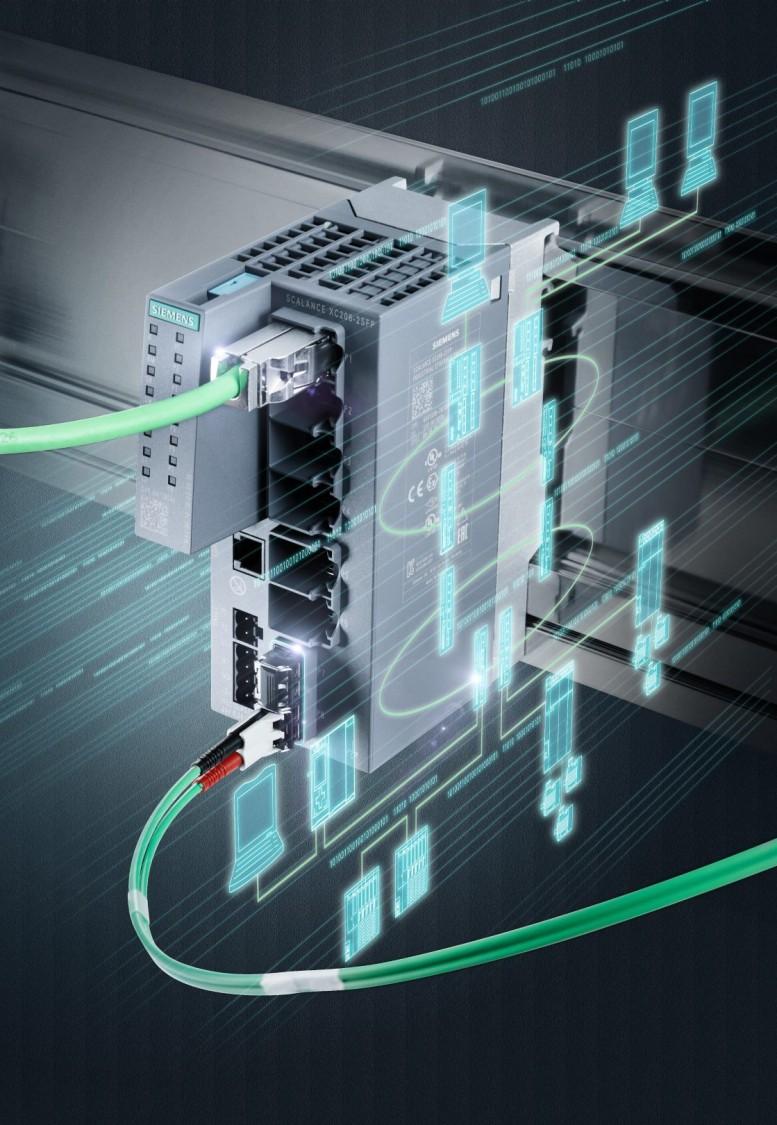 Мережеве обладнання для промислового Ethernet