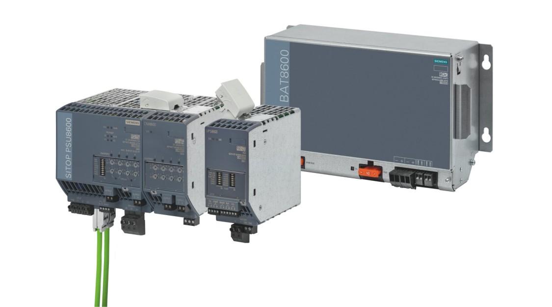 Systém SITOP PSU8600 je nově UPS