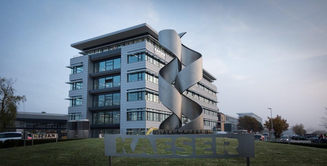 Bild vom Gebäude von Firma Kaeser Kompressoren SE