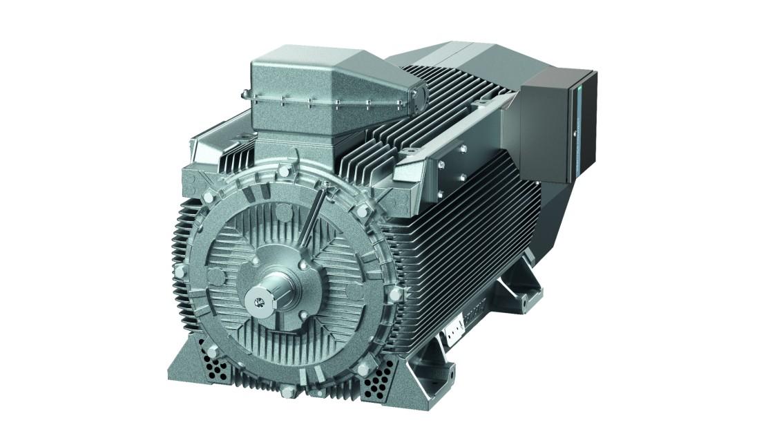 Високовольтні електродвигуни SIMOTICS HV C із повітряним охолодженням