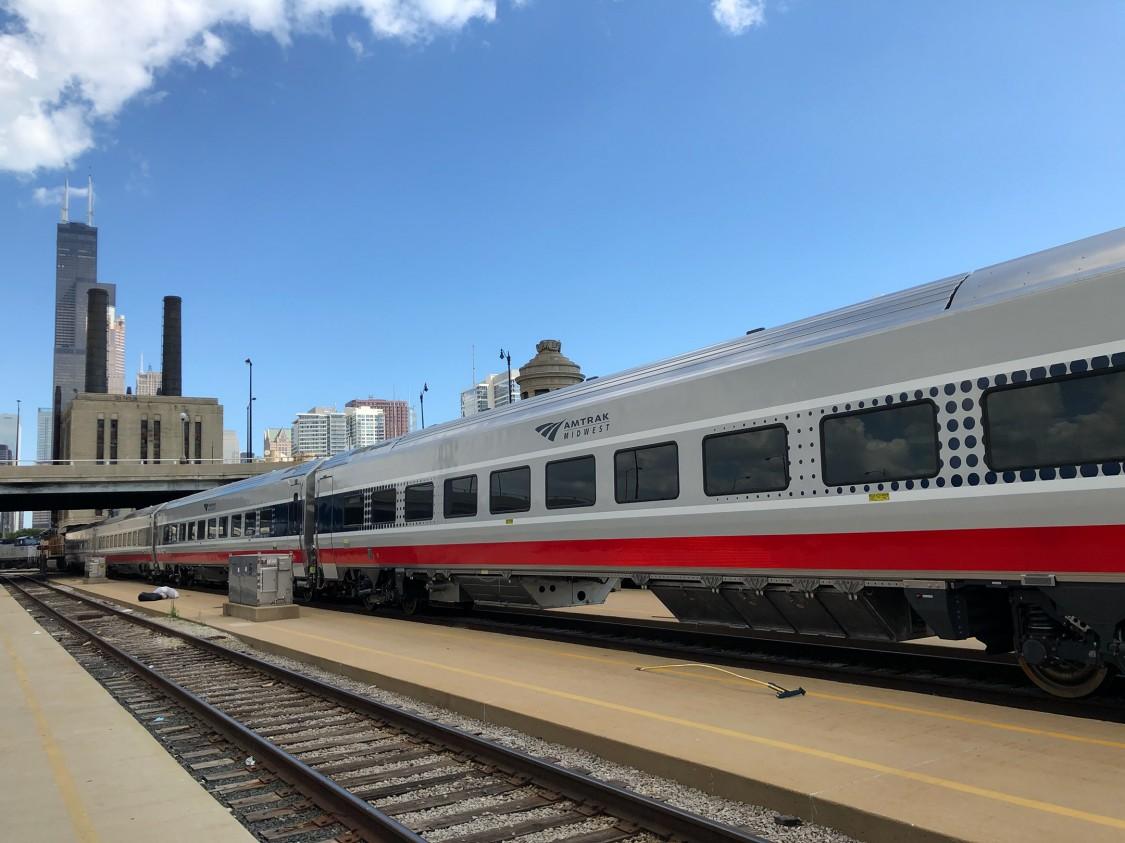 Idot in Chicago Image - Amtrak Image