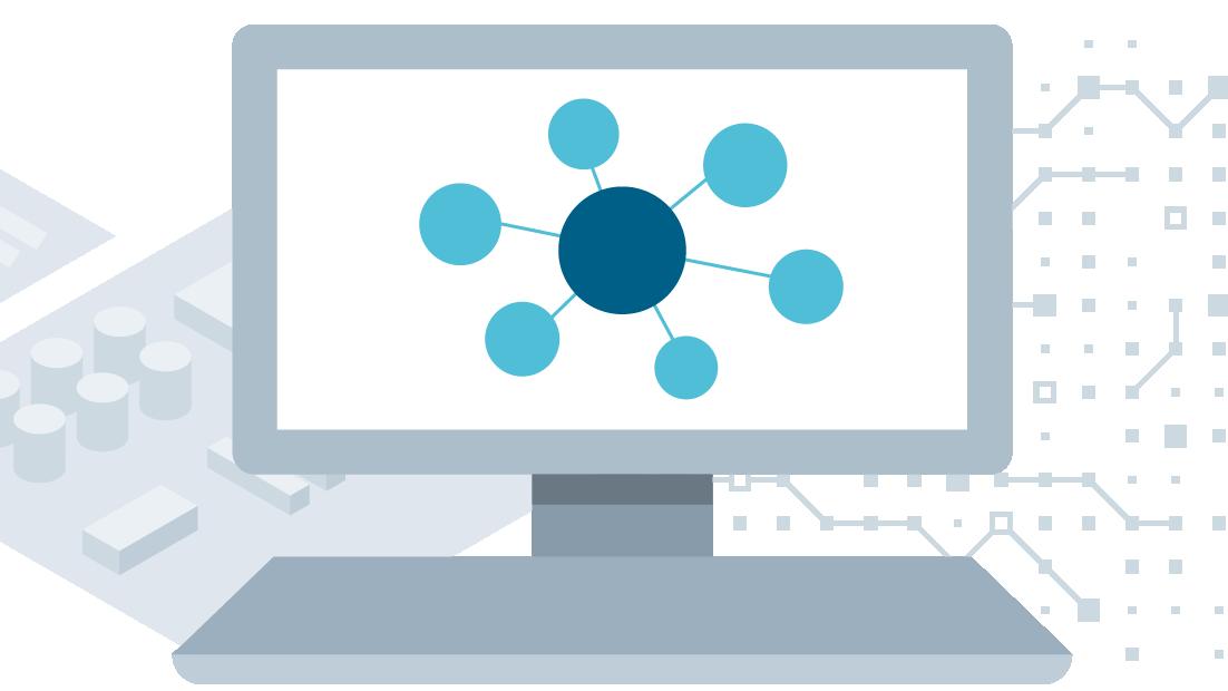 USA | computer screen icon representing communication protocols