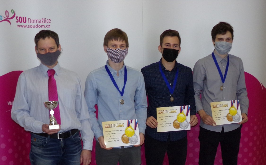 Sinumerik cup 2. místo