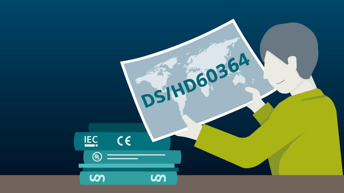 DS/HD60364 standard