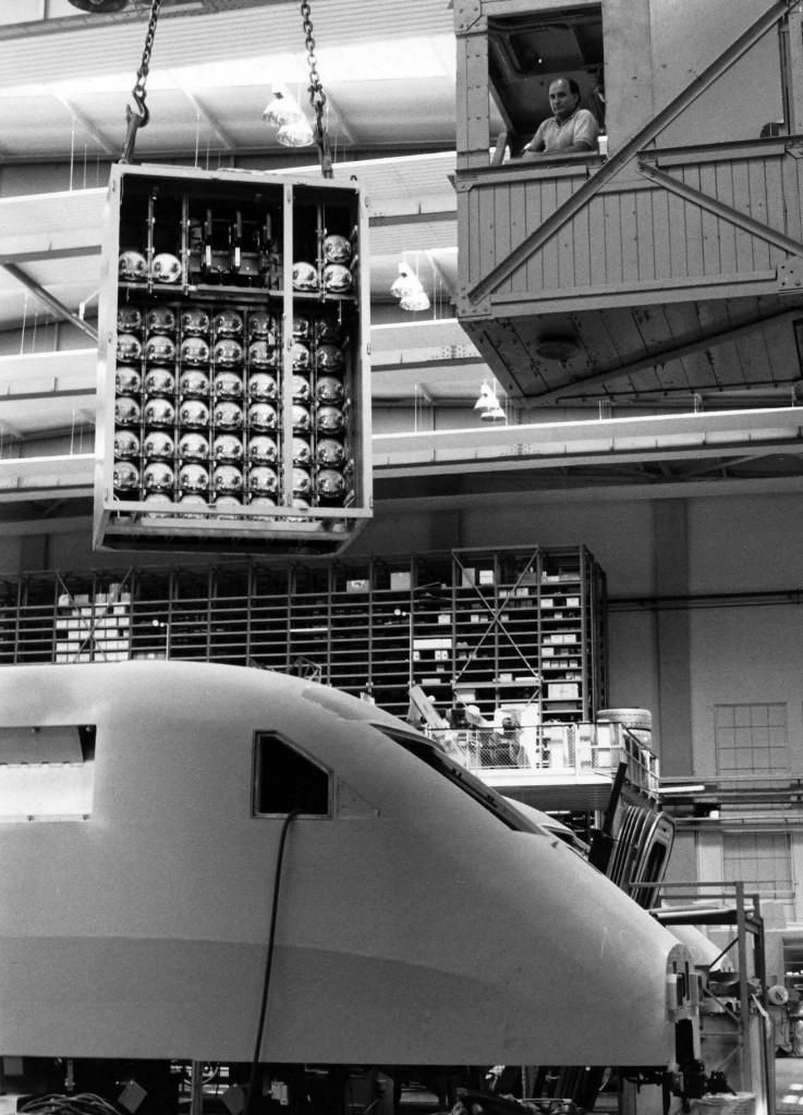 ICE assembly, Undated, ICE 1, Krauss-Maffei Factory Munich-Allach