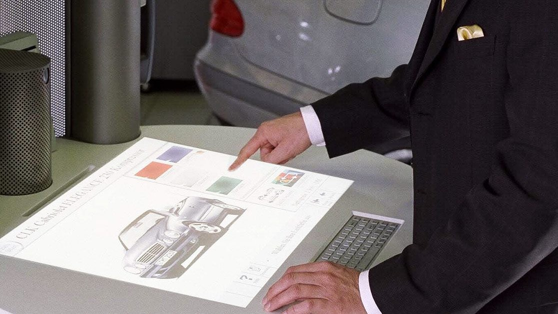 Компьютер SIVIT, управляемый жестами, 1996 год