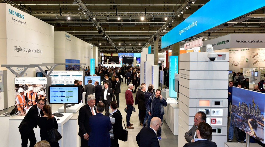 Light - Building | Fairs and events | Siemens