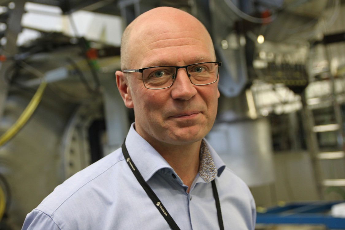 Carl-Maikel Högström, Senior R&D Engineer och ansvarig för turbinlaboratoriet på Vattenfall.