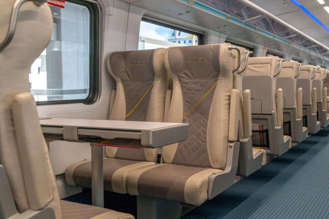 trainset interior