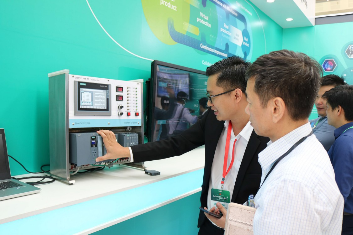 Thiết bị demo của Siemens
