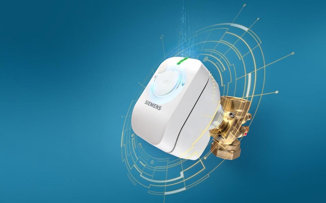 SSA room actuator from Siemens