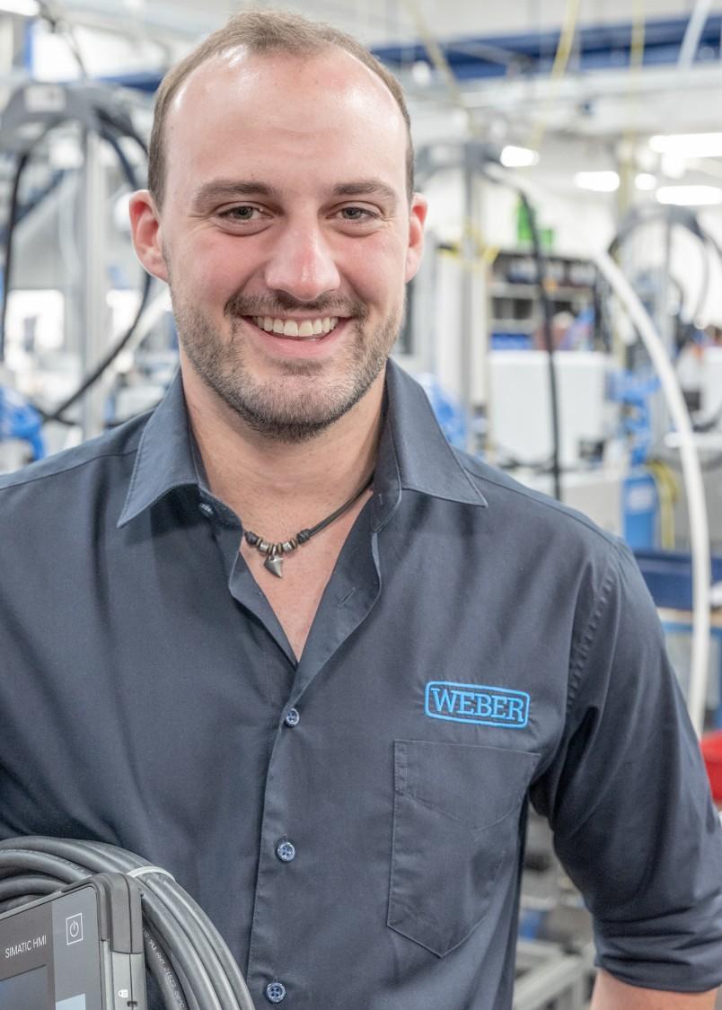 Benedikt Walch, developer, WEBER Schraubautomaten GmbH