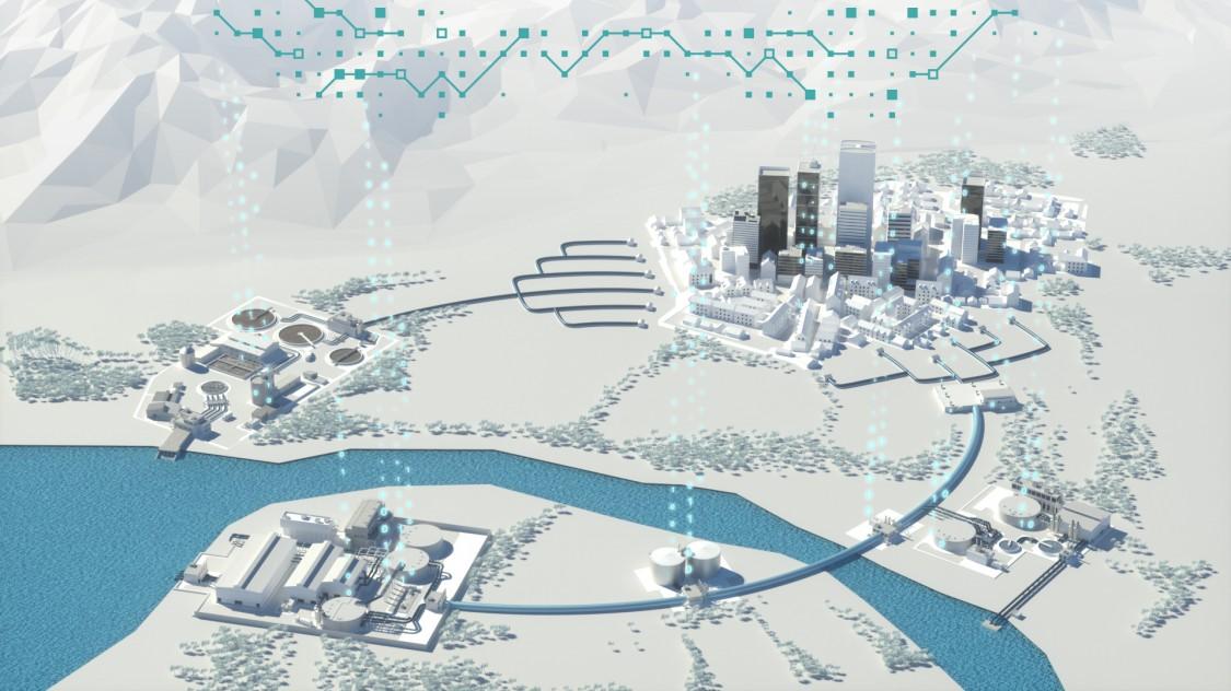 digitalización de la industria del agua