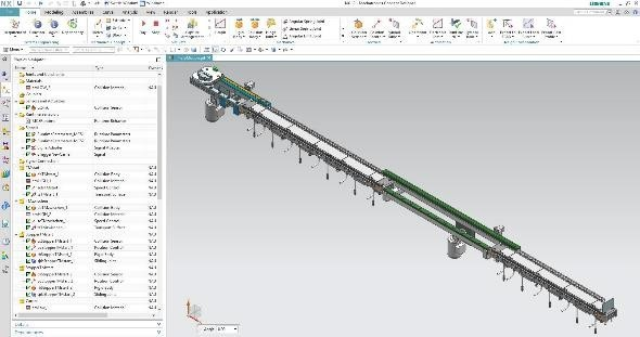 The Siemens Multi-Carrier System and digital twin ensure dynamic production