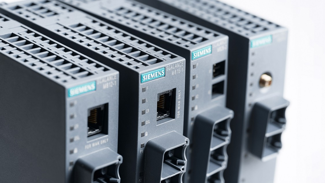 Photo of SCALANCE M industrial routers