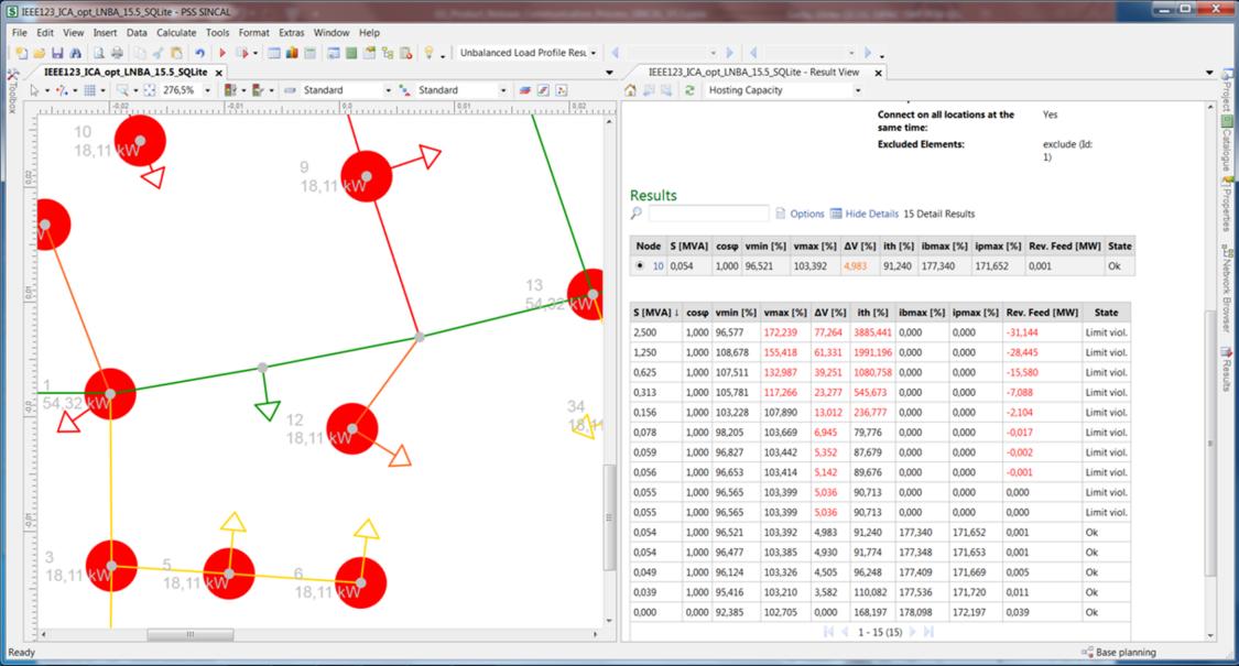 Erweiterungen zur optimierten Verwendung von Lastprofilen im Modul Integrationskapazität