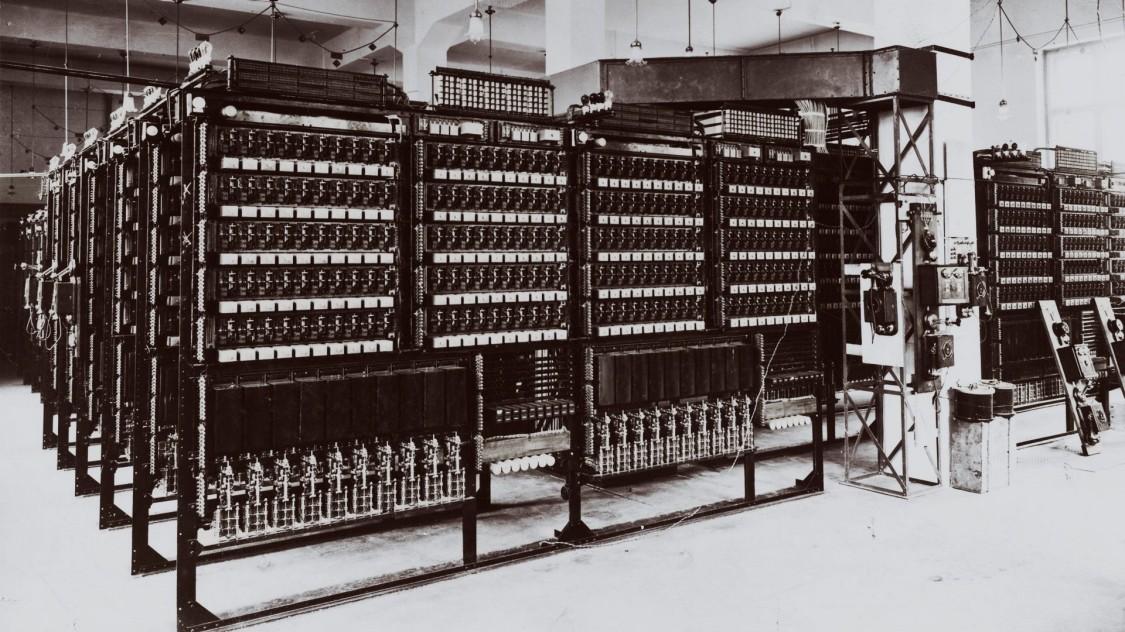 Городская телефонная станция в Швабинге, 1909 год